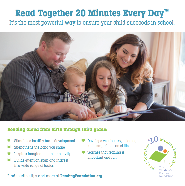 Read Together 20 Minutes Every Day