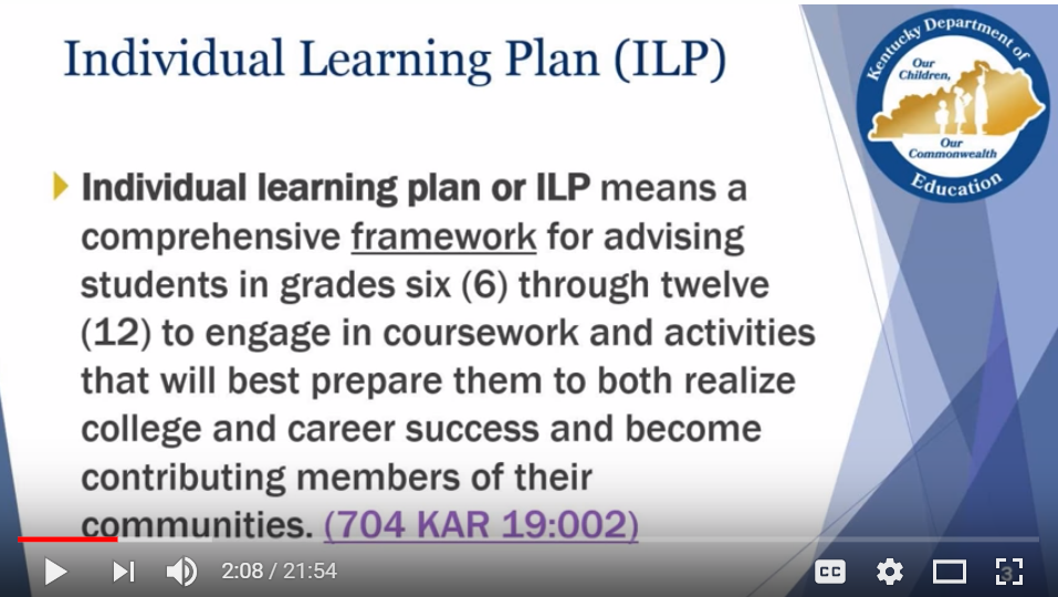 This is an image of a screenshot of the ILP webinar video.  Click on the image to link to the video