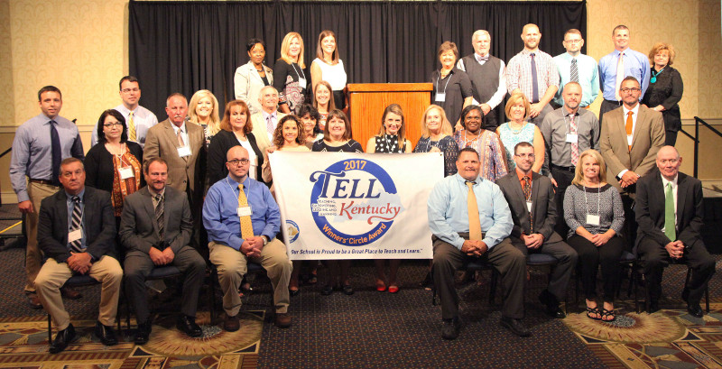 2017 TELL KY Winners' Circle Schools picture